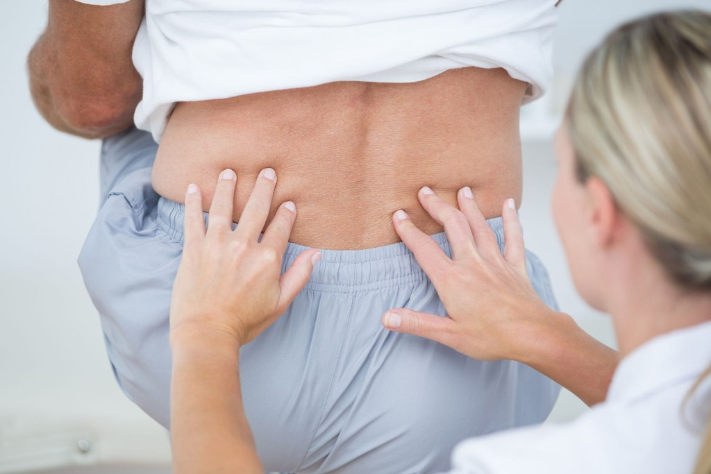Back Pain Treatment Examination