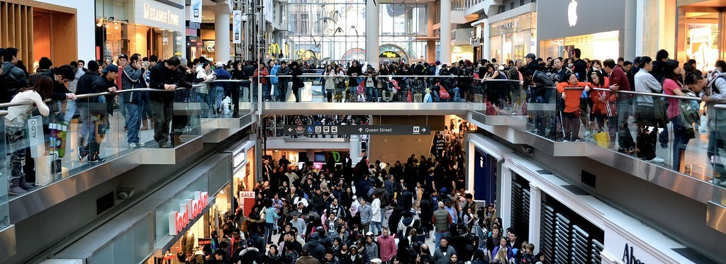 shopping crowd 2